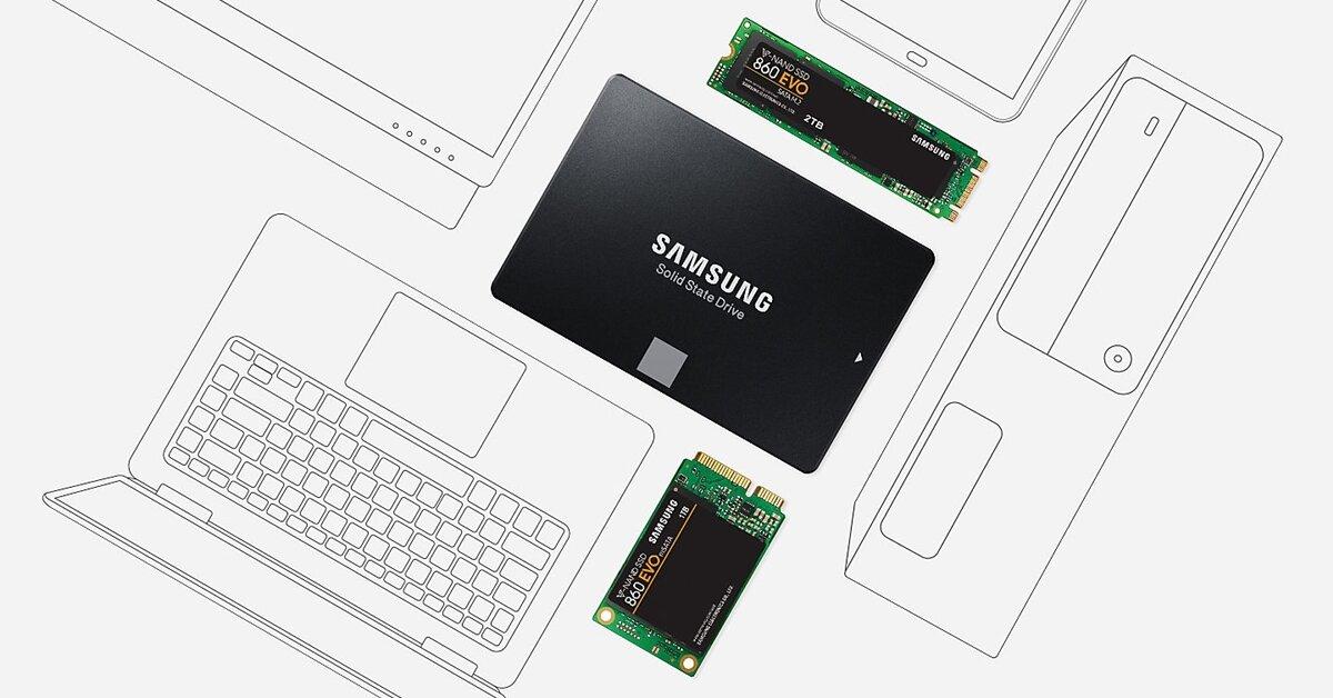 So sánh hiệu năng bộ đôi SSD Samsung 860 EVO và 860 PRO