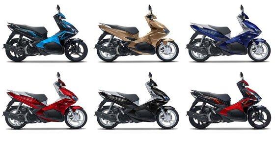 So sánh Honda AirBlade và Yamaha Latte: lựa chọn tay ga nào tốt hơn
