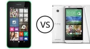 So sánh HTC Desire 510 và Nokia Lumia 530