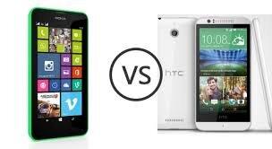 So sánh HTC Desire 510 và Nokia Lumia 630
