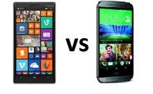 So sánh HTC One M8 và Nokia Lumia 930: Chọn hiệu năng hay sức mạnh hiển thị?