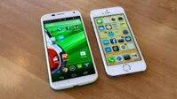 So sánh iPhone 6 và Moto X: Cuộc chiến không khoan nhượng giữa Apple và Google