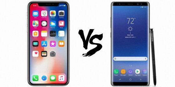 So sánh iPhone X và Note 8: Camera, Giá bán, Tính năng, Màn hình, Pin