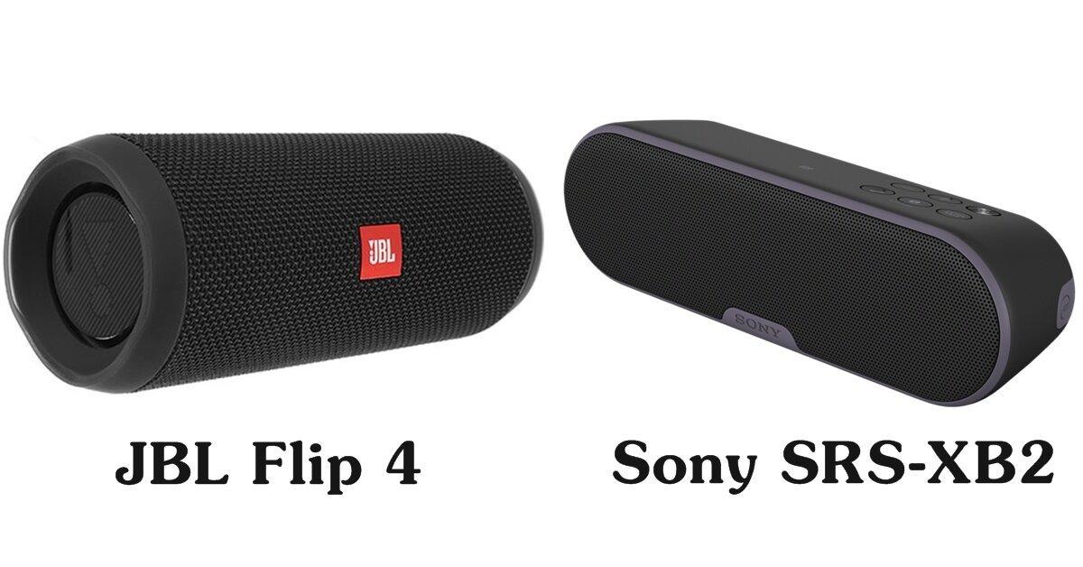 So sánh JBL Flip 4 và Sony SRS-XB2: Nên mua loa nào?