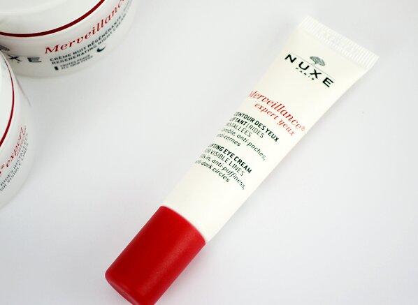 So sánh kem mắt Innisfree Eco Science Eye Cream và NUXE Merveillance Expert Eye Cream