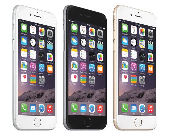 So sánh kích thước của iPhone 6s  với những smartphone phổ biến trên thị trường