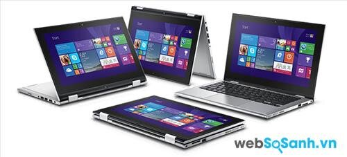 So sánh laptop Acer Aspire Switch 11 và Dell Inspiron 11 3000