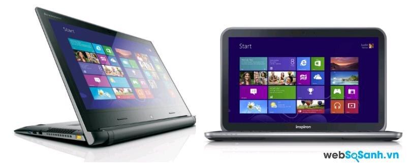 So sánh laptop Dell Inspiron 15z và Lenovo IdealPad Flex 14