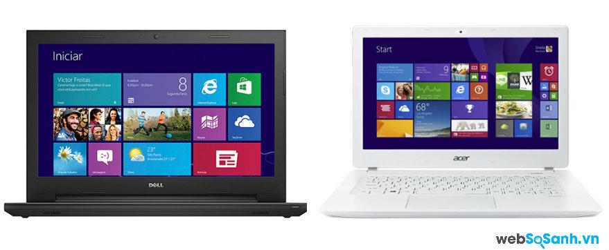 So sánh Laptop Dell Inspiron 15 3542 và Acer Aspire V3- 578U – NX.MPGSV.001