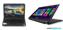 So sánh Laptop Dell Latitude N3440 và Asus Transformer Book Flip TP550LA