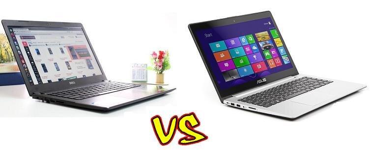 So sánh Laptop Dell Vostro 5470 và Laptop Asus Vivobook S400CA – Giá cả chưa hẳn đã là lợi thế