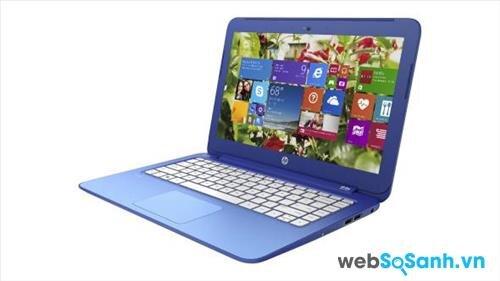 So sánh laptop HP Stream 13 và Acer Chromebook 13