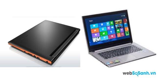 So sánh laptop IdeaPad Z400 Touch và IdeaPad Flex 14 của Lenovo