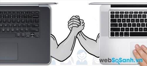 So sánh laptop MacBook Pro Retina và Dell XPS 15: cuộc đụng độ của hai siêu phẩm