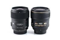 So sánh lens Sigma 35mm f/1.4 DG HSM với lens  Nikon 35mm f/1.4G (Phần 1)