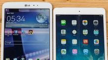 So sánh LG G Pad 8.3 và Apple iPad mini 2 ( Phần III: Camera và thời lượng pin )
