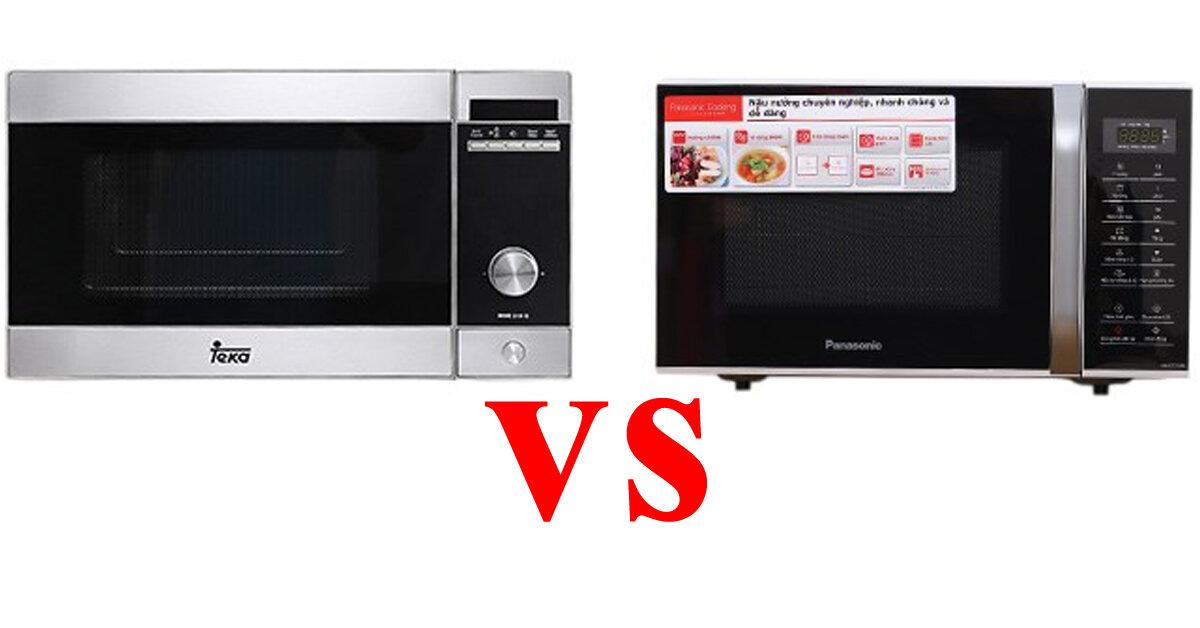 So sánh lò vi sóng Panasonic và Teka trong tầm giá 3 triệu : Lò vi sóng nào đáng mua hơn ?