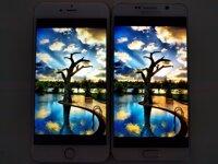 So sánh màn hình Samsung Galaxy S7 và iPhone 6s