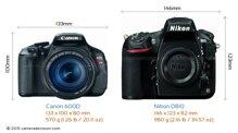 So sánh máy ảnh Canon EOS 600D và Nikon D810