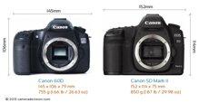 So sánh máy ảnh Canon EOS 60D và Canon EOS 5D III