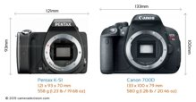 So sánh máy ảnh Canon EOS 60D và Sony A58