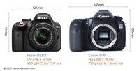 So sánh máy ảnh Canon EOS 60D và Nikon D3300