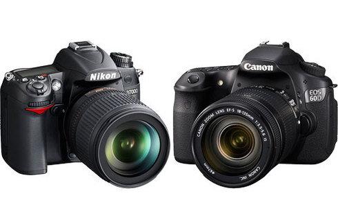 So sánh máy ảnh Canon EOS 6D và Nikon D5500