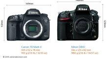 So sánh máy ảnh Canon EOS 700D và Nikon D810