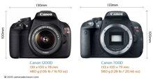 So sánh máy ảnh Canon EOS 700D và Canon EOS 1200D