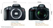 So sánh máy ảnh Canon EOS 700D và Nikon D5300
