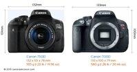 So sánh máy ảnh Canon EOS 7D và Canon EOS 750D