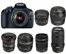 So sánh máy ảnh Canon EOS 1200D và Canon EOS 6D
