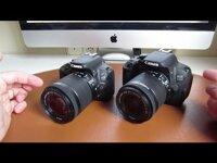 So sánh máy ảnh Canon EOS 1200D và Canon EOS 750D