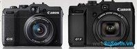 So sánh máy ảnh Canon G15 và Canon G1 X