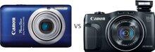 So sánh máy ảnh compact Canon IXUS 115 HS với Canon PowerShot SX700 HS