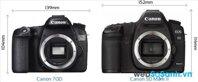 So sánh máy ảnh DSLR Canon EOS 70D và Canon EOS 5D Mark II