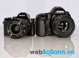 So sánh máy ảnh DSLR và máy ảnh ILC không gương lật