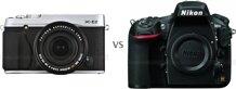 So sánh máy ảnh Fujifilm X-E2 và Nikon D810