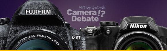 So sánh máy ảnh Fujifilm X-S1 và Nikon P510 (phần 1)
