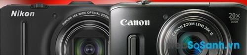 So sánh máy ảnh Nikon Coolpix S9300 và Canon PowerShot SX260 HS