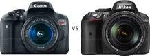 So sánh máy ảnh Nikon D5300 và Canon EOS 750D