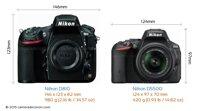 So sánh máy ảnh Nikon D5500 và Nikon D810