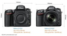 So sánh máy ảnh Nikon D7100 và Nikon D750