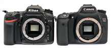 So sánh máy ảnh Nikon D7100 và Canon EOS 750D