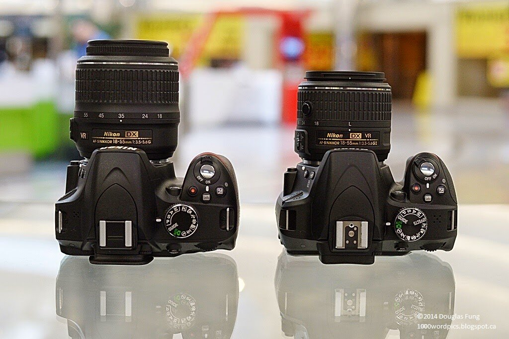 So sánh máy ảnh Nikon D750 và Nikon D3300