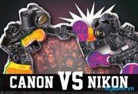 So sánh máy ảnh Nikon vs Canon: cuộc chiến không cân sức (Phần cuối)