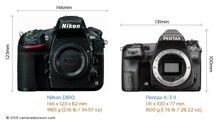 So sánh máy ảnh Pentax K-3 II và Nikon D810