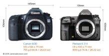 So sánh máy ảnh Pentax K-3 II và Canon EOS 60D
