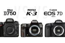 So sánh máy ảnh Pentax K-3 II và Nikon D750