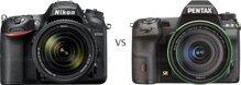 So sánh máy ảnh Pentax K-3 II và Nikon D7200
